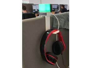 Blynclight Clip w/ Headphone Holder