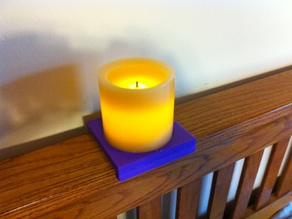 Headboard Candle Holder