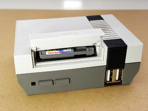 Mini NES Raspberry Pi Case