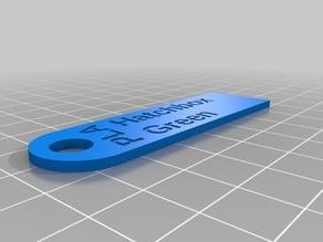 Compact filament sample tag