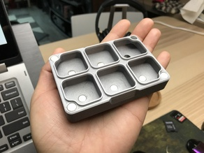 Small Screw Box with Magnet Tray