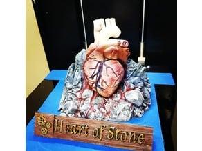 Heart of stone Desktop statue -Kingkiller Chronicle