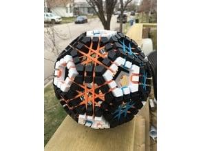 Truncated Icosahedron Puzzle