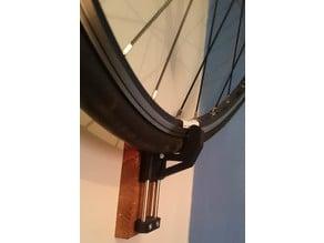 Bike wall latching thingy