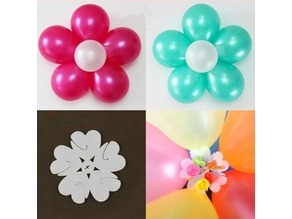 Balloon Flower Clip