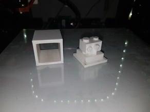 E3D V6 Clone Silicone Sock Mold