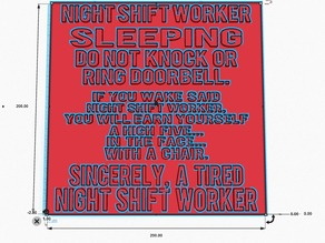 Night Shift Worker