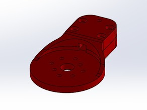 Motor Mount - 10x10mm Square tubes