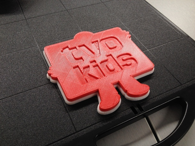Tvo Kids Logo By Techknight Thingiverse