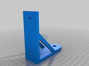 Wallmount phone holder