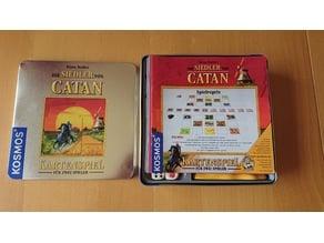 Catan Card Game Inlay/Organizer