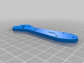 Firefly Pro Arm with holes for ESC cover