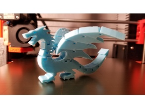 Two Winged Flexi Dragon