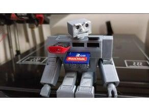 Robot Storage Devices Holder
