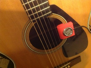 Clip Holder for Acoustic Guitar Pickup