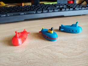 Mini Submarine Bath Toy