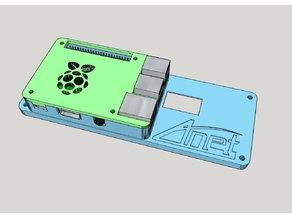 Anet A8 LCD Backplate | Raspberry Pi | Case