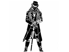 Jacob Frye stencil