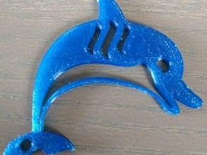Steemit Keychain - Dolphin