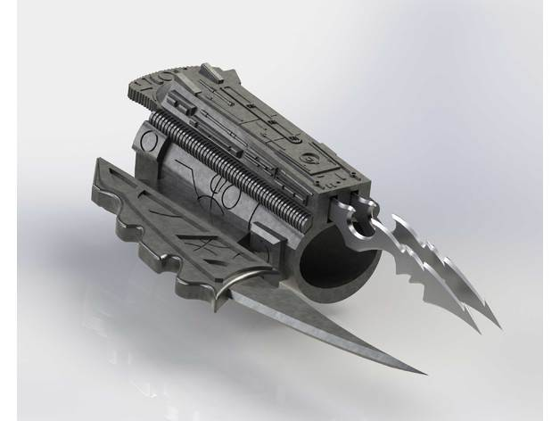 predator arm blade. predator arm blade o