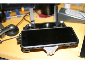 Mavic Pro Remote Phone Mount for PopSocket - Fits Iphone 6s+