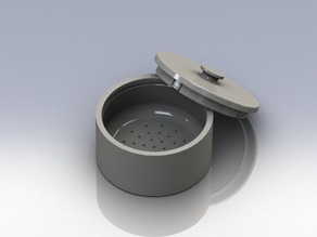 Shaving Bowl with Lid