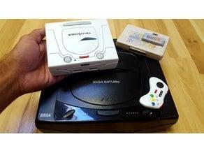 Sega Saturn Classic Edition: Odroid XU4 case