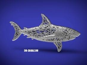 Deep water Steel style Voronoi