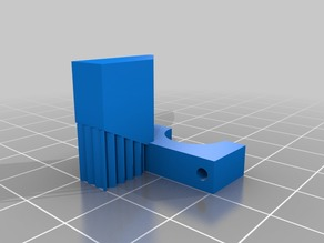 Modified mounting clamp for RXL E3D mounting system (winstonc)