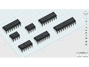 Common IC DIP Package