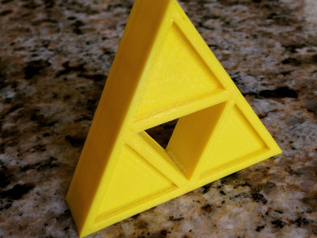 Legend Of Zelda Triforce By Menelvagor Thingiverse