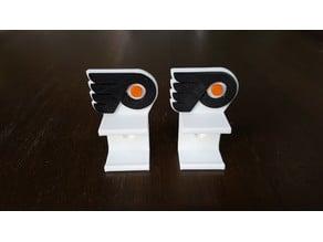 Hockey Stick Wall Mount (Philadelphia Flyers)