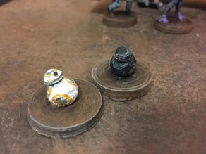 BB droids (Star Wars Legion scale)