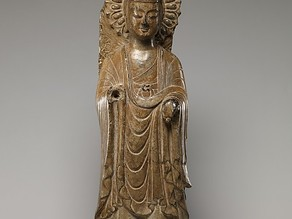 Buddha (Fragment of a Stele)