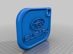 Subaru keychain