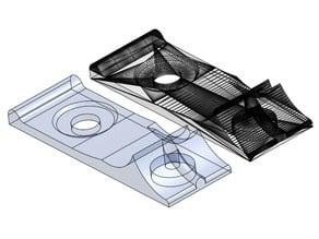 Anet Extruder Filament Guide CAD remix