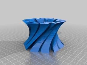 test modeling of a vessel