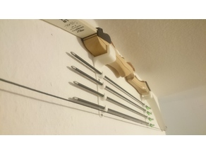 Wall Mounts for Recurve Bow + Arrow Rack