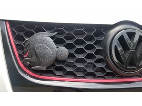 VW Fast Rabbit Remixes  Badges, Mirror Hangs and Piggy Bank
