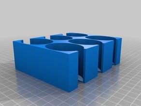 Oval tile storage 2x3