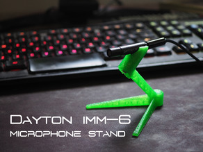 Dayton iMM-6 Measurement Microphone Stand / Tripod Mount