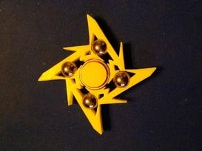 Ninja Star Fidget Spinner (Update)