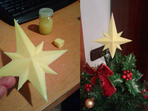 Remixed Star for Christmas tree