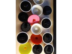Cup Cake Shape Stacking Toy