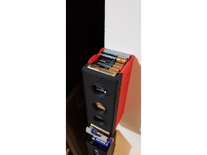 AAA Battery Dispenser, 45 batteries capacity, finger access if it is jammed