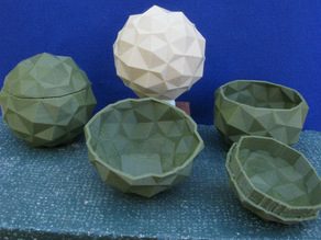Tribonacci Bowl, Container, and Composite
