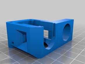 Prusa i3 Bowden Extruder bracket w. inductive auto-level