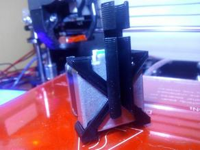 Geeetech MK8 motor cable guide