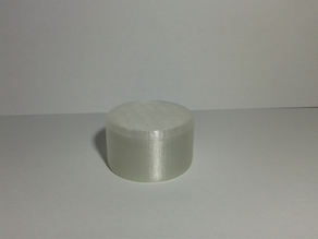 Small round box with thread