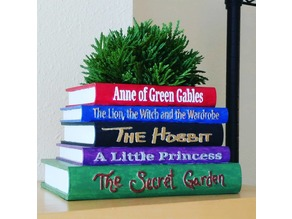 Book Planter Remix